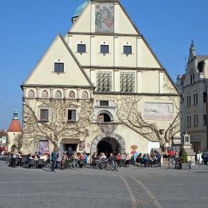 Altes Rathaus in Stadt Weiden in der Oberpfalz